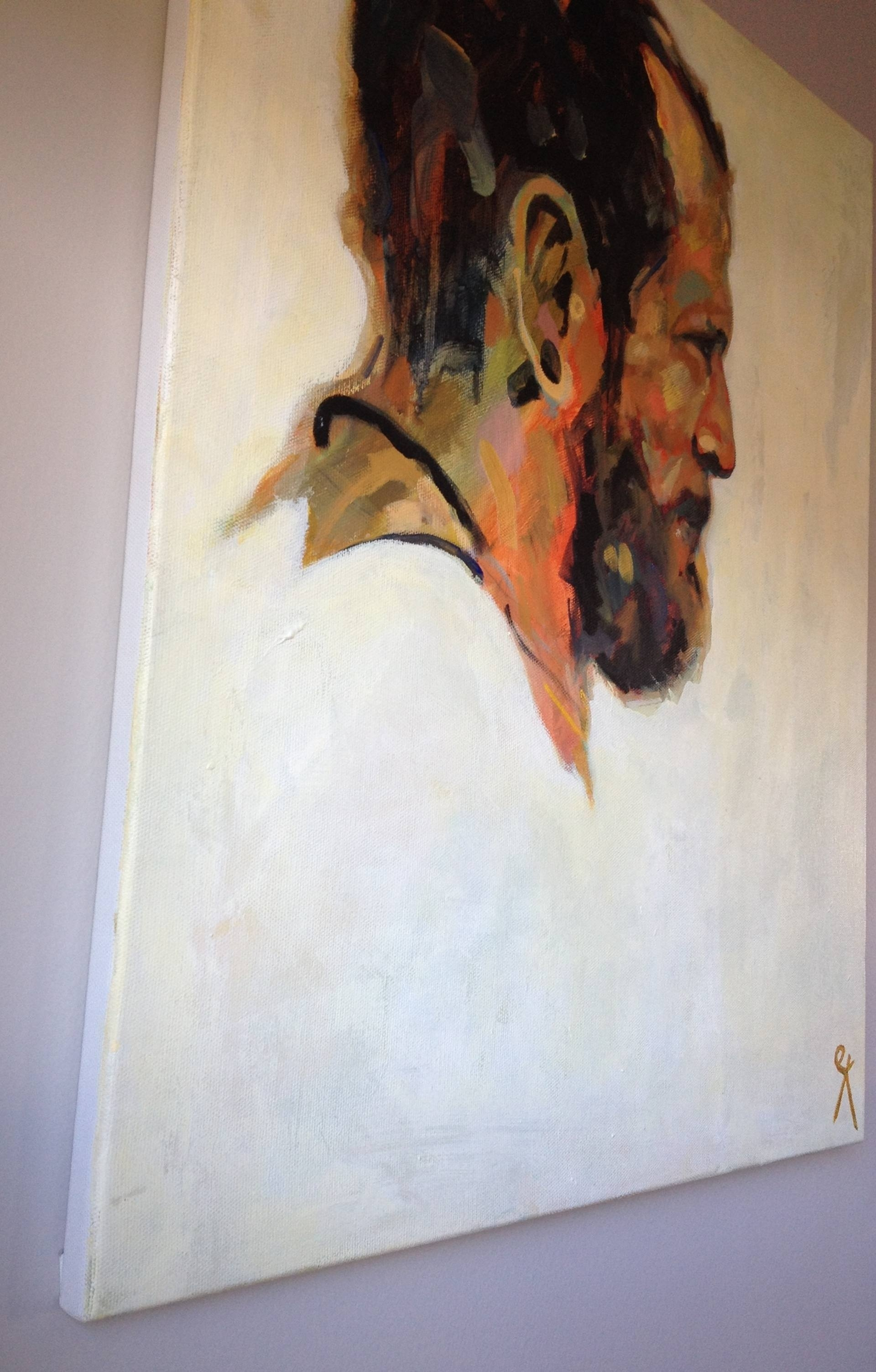 Saatchi Art: Brazilian Portrait Paintingemily Kirby Within Current Kirby Abstract Wall Art (View 8 of 20)