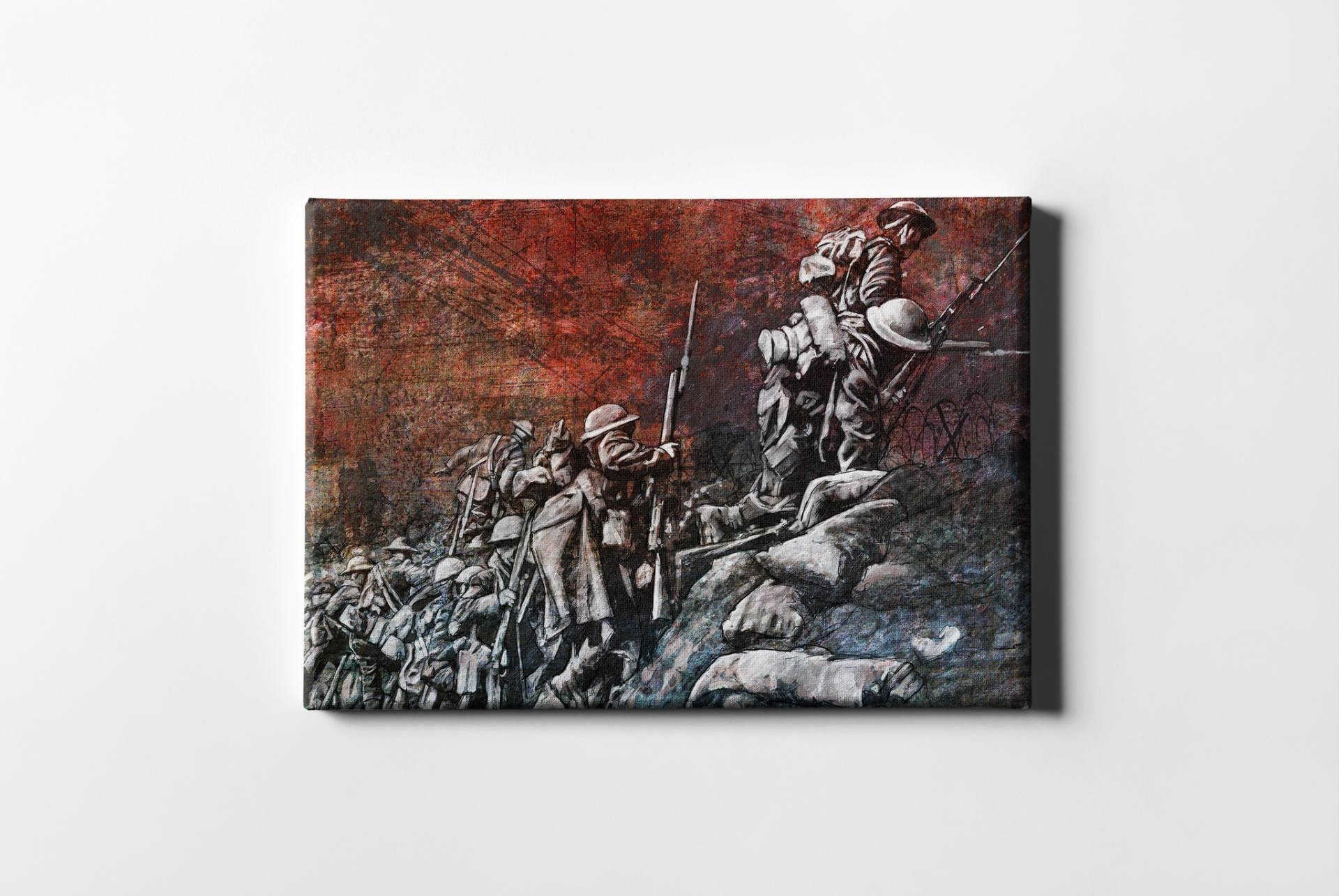 Saatchi Art: Remembrance Day Art Original Limited Edition Canvas For Most Recent Limited Edition Canvas Wall Art (View 9 of 20)