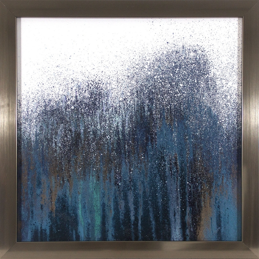 Shop 24 In W X 24 In H Framed Abstract Paper Print At Lowes Throughout Most Recent Framed Abstract Wall Art (View 12 of 20)