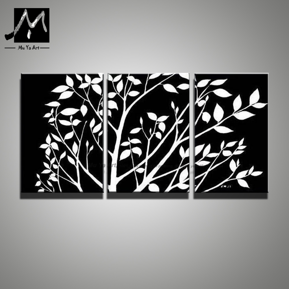 Sightly Wall Art Painting Bright Lightthrough Sky Shine On Sea Within Latest Black And White Abstract Wall Art (View 18 of 20)
