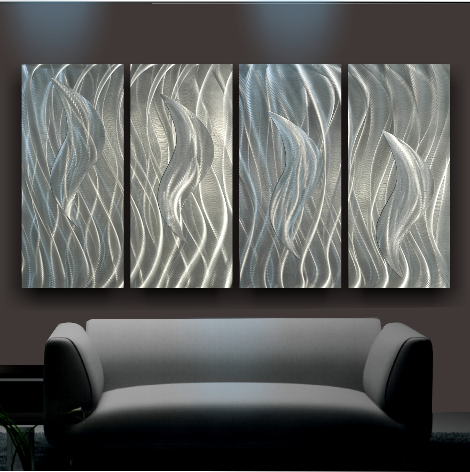 Steel Wall Surface Fine Art Is A Contemporary Sort Of Art Work For Most Popular Aluminum Abstract Wall Art (View 6 of 20)