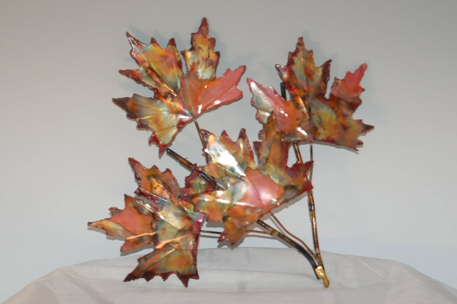 Top 20 Of Leaf Metal Wall Art For Recent Abstract Leaf Metal Wall Art (View 13 of 20)