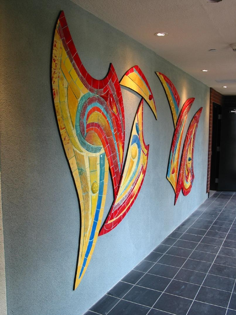 Unique Art Inside Most Up To Date Abstract Mosaic Art On Wall (Gallery 5 of 20)