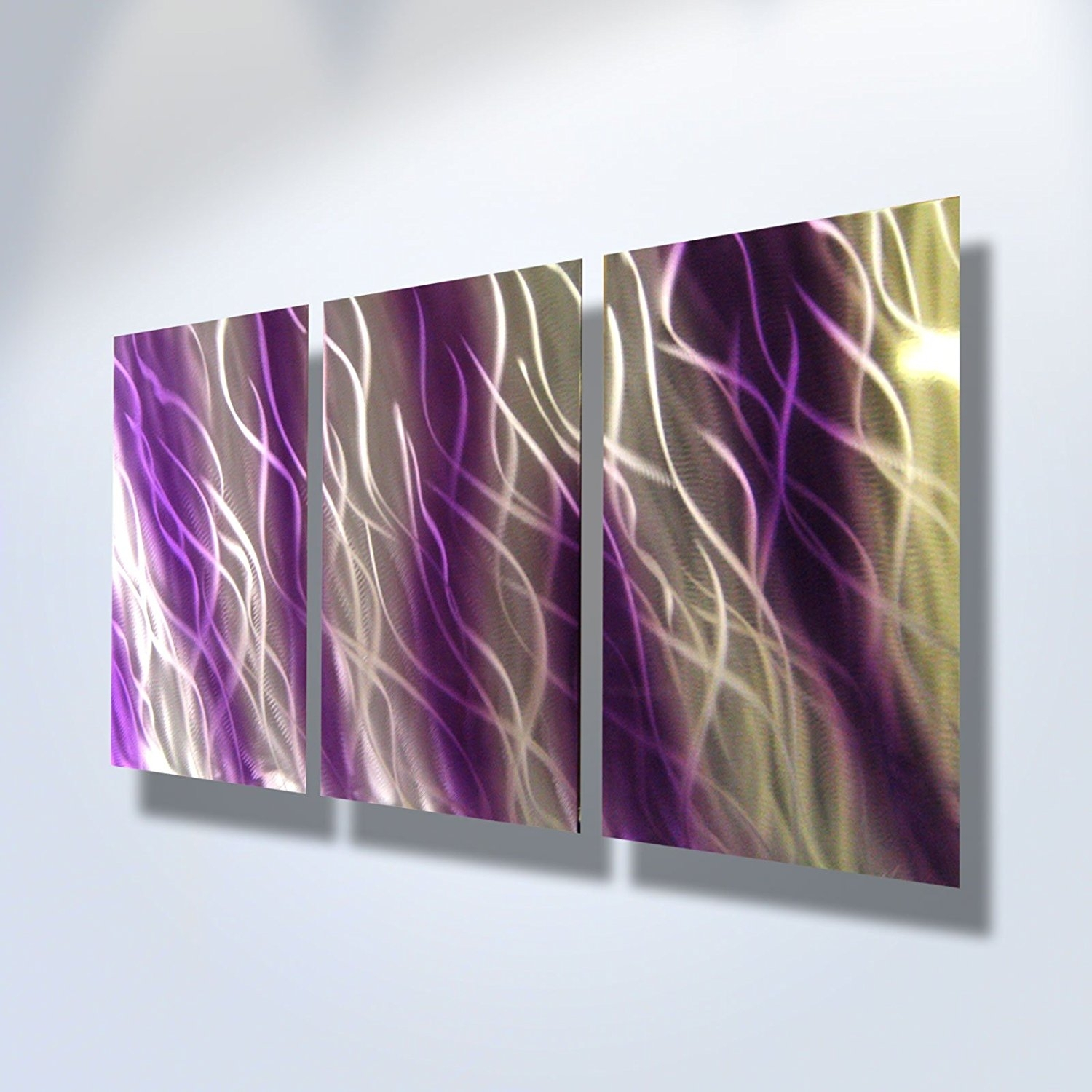 Unusual Purple Metal Wall Art Together With Haze Butterflies Dark Throughout Most Popular Dark Purple Abstract Wall Art (View 4 of 20)