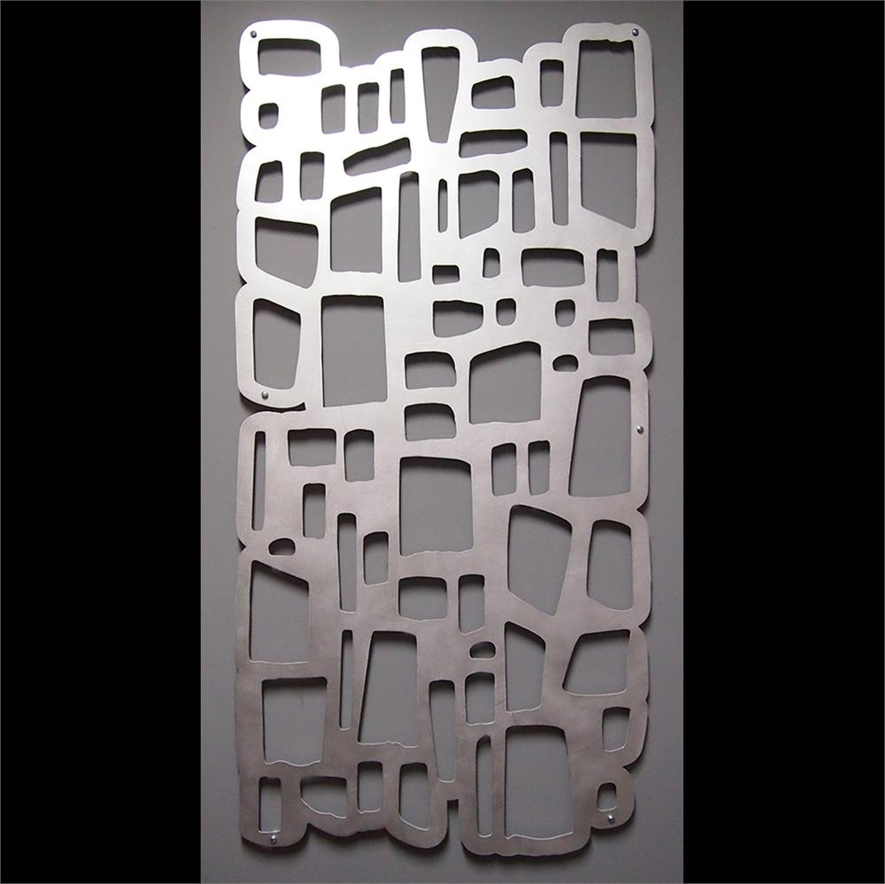 Wall Art Design Ideas: Wonderful Aluminum Wall Art Sculpture With Most Up To Date Abstract Aluminium Wall Art (View 19 of 20)