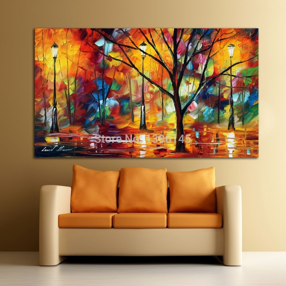 Wall Art Designs: Abstract Canvas Wall Art Colorful Impression In With 2017 Abstract Wall Art For Office (View 16 of 20)