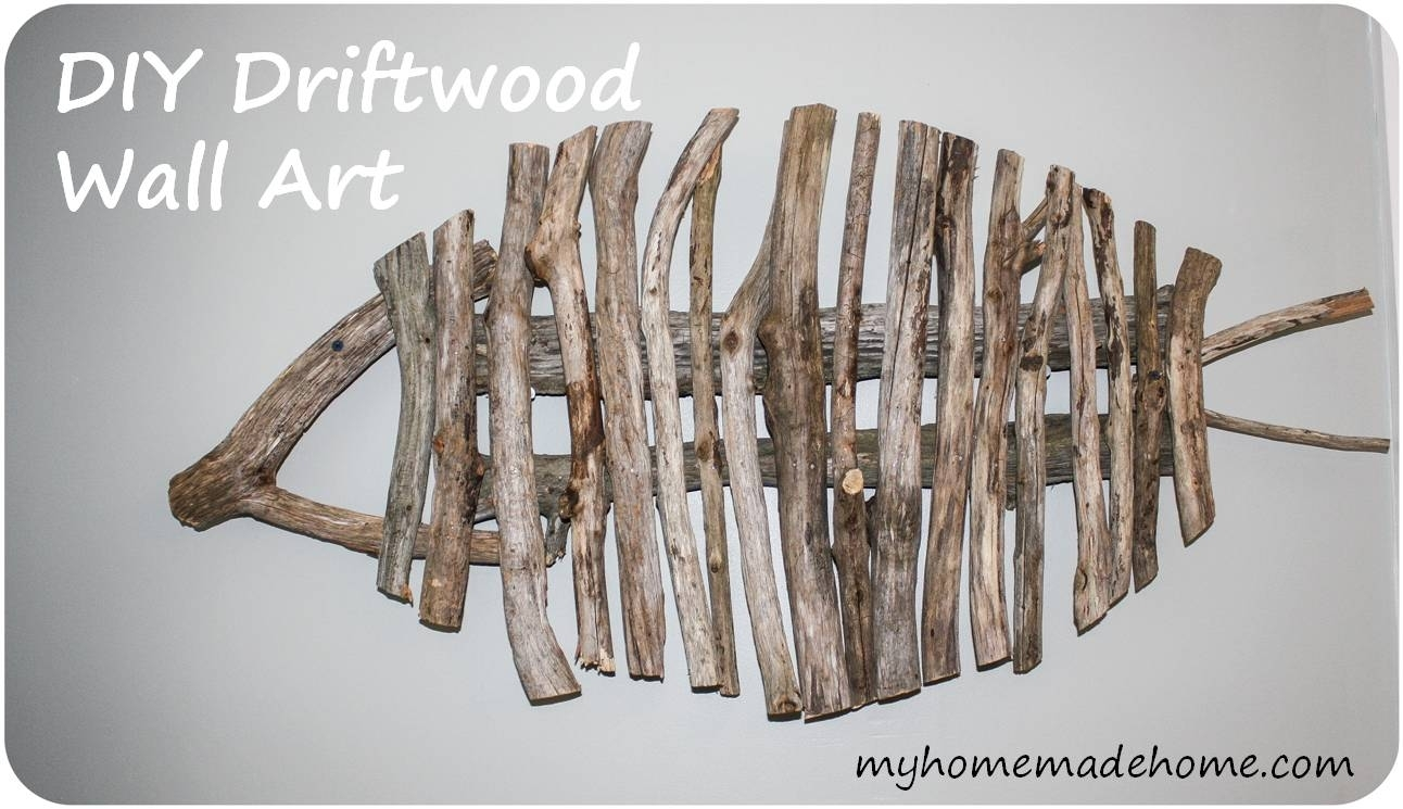 Wall Art Designs: Driftwood Wall Art Diy Driftwood Fish Wall Art Within Most Recently Released Abstract Fish Wall Art (View 14 of 20)
