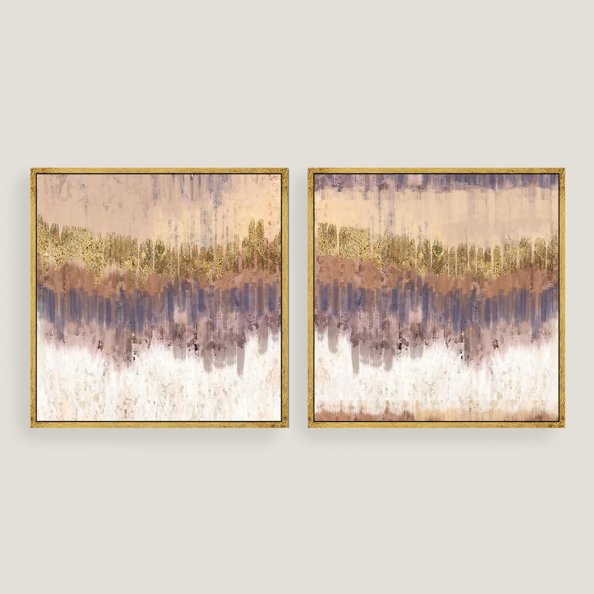 Wall Art Designs: Kirklands Wall Art Golden Field Abstract Canvas Inside Most Recently Released Abstract Leaves Wall Art (View 3 of 20)