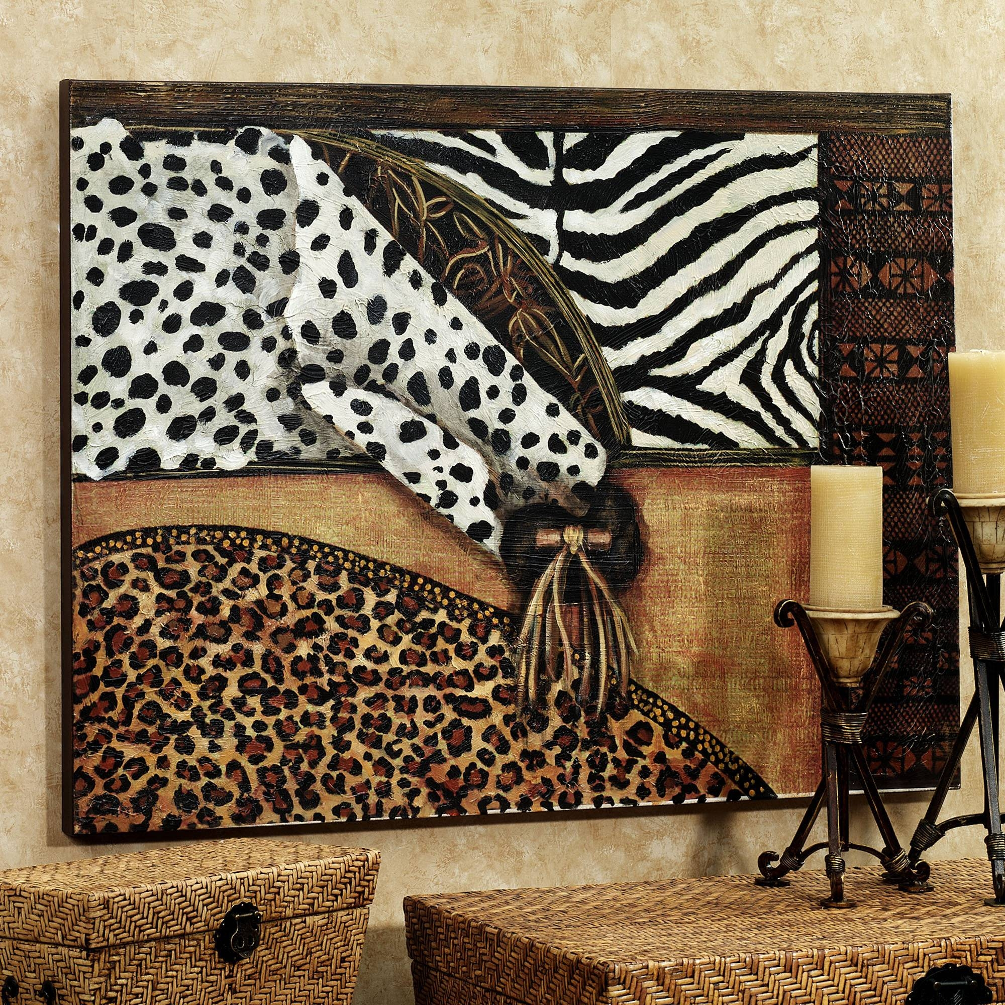Wall Art Designs: Marvelous Natural Animal Print Canvas Wall Art Within 2017 Wooden Animal Wall Art (Gallery 19 of 20)