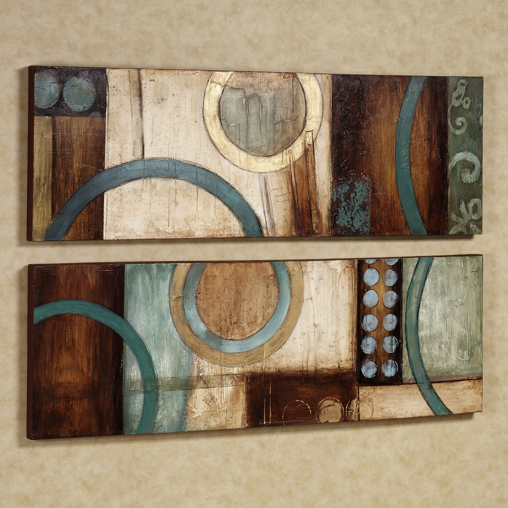 Wall Art Designs: Wall Art Sets Metal Wall Art Set Metal Wall Art Regarding Best And Newest Aqua Abstract Wall Art (View 19 of 20)