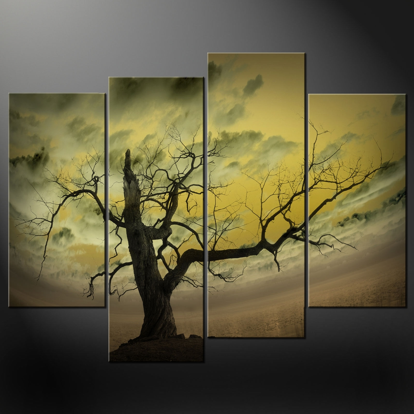 Wall Art: Top 10 Sample Ideas Tree Canvas Wall Art Canvas Prints With Regard To Latest Abstract Nature Canvas Wall Art (View 7 of 20)