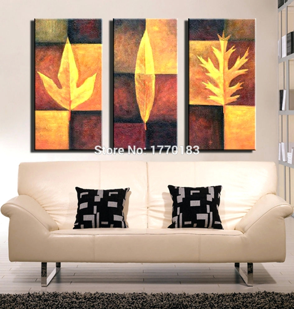 Wall Arts ~ 3 Piece Abstract Canvas Wall Art 3 Piece Abstract Throughout Most Up To Date Abstract Canvas Wall Art Iii (View 19 of 20)