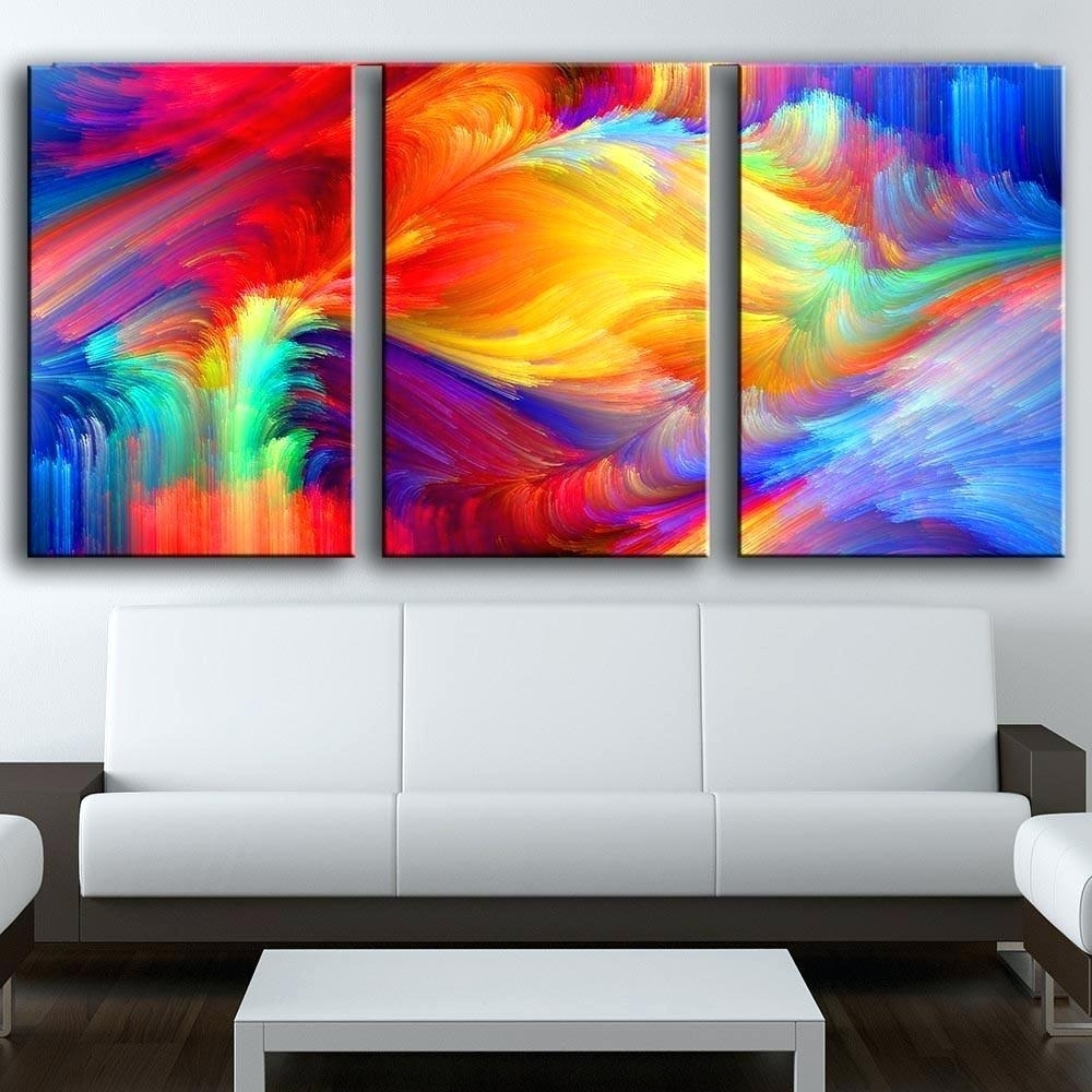 Wall Arts ~ 3 Piece Vintage Airplane Canvas Wall Art 3 Piece Throughout Latest Abstract Canvas Wall Art Iii (View 20 of 20)