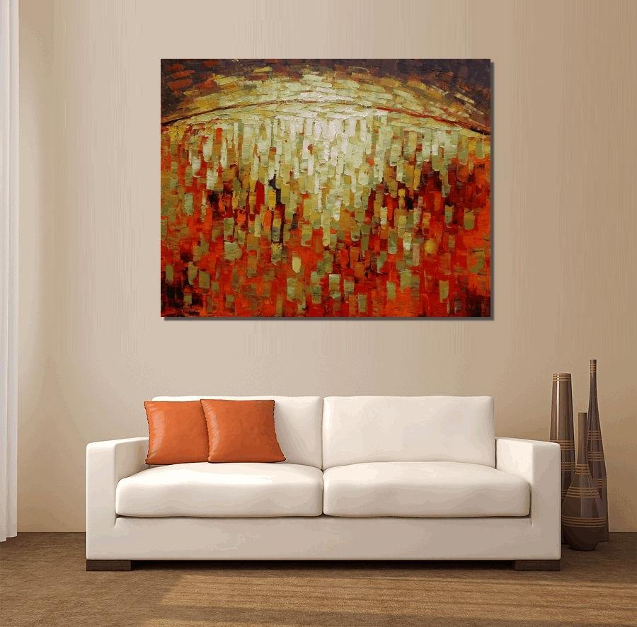 Wall Arts ~ Abstract Canvas Art Australia Abstract Circle Canvas Intended For Most Current Abstract Wall Art Australia (View 12 of 20)