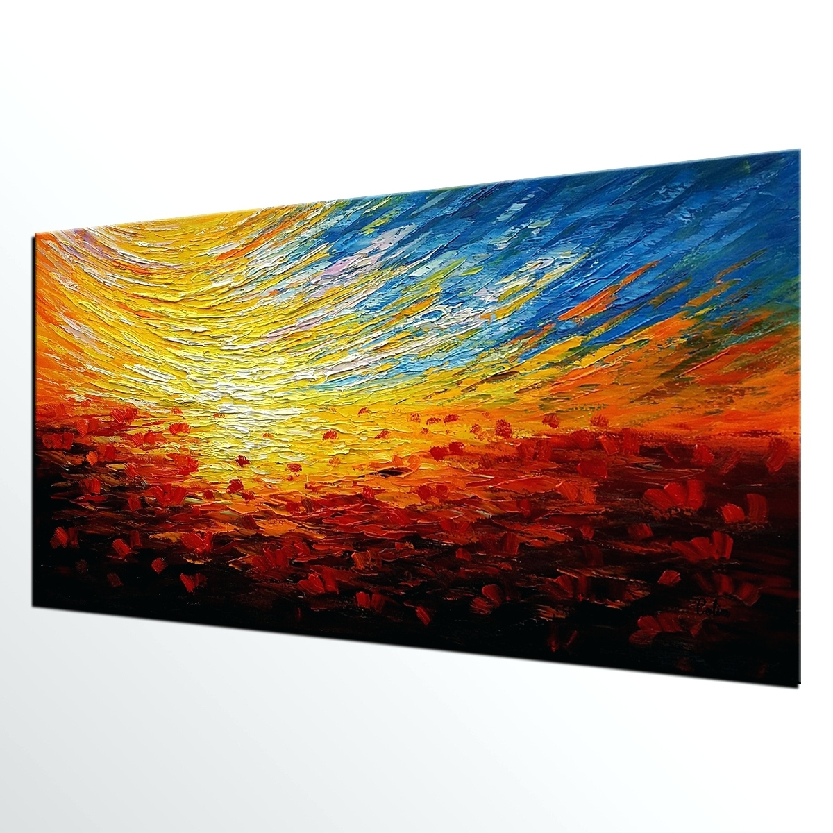 Wall Arts: Abstract Canvas Wall Art (View 10 of 20)