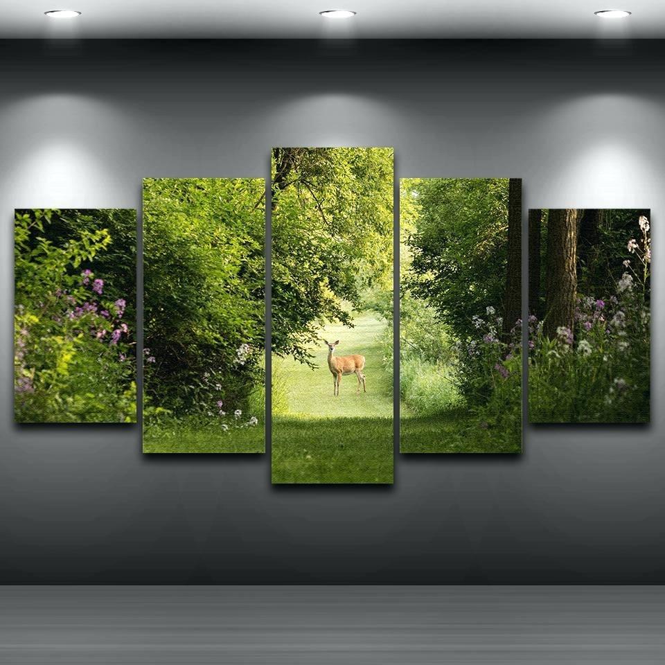 Wall Arts ~ Abstract Nature Canvas Wall Art Canvas Wall Art Sets With Most Up To Date Abstract Nature Wall Art (View 2 of 20)