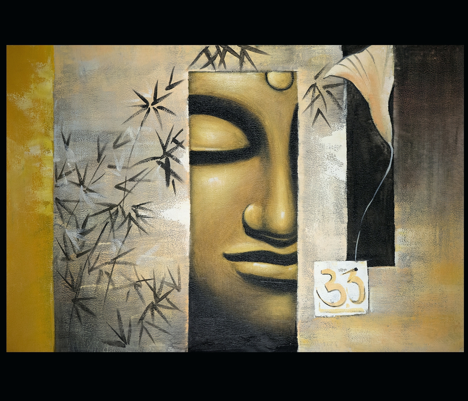 Wall Arts: Budha Wall Art. Buddha Wall Art Canvas (View 18 of 20)