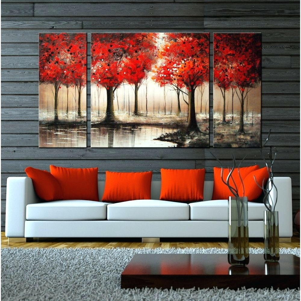 Wall Arts: Canvas Wall Art Red. Large Canvas Art Red (View 18 of 20)