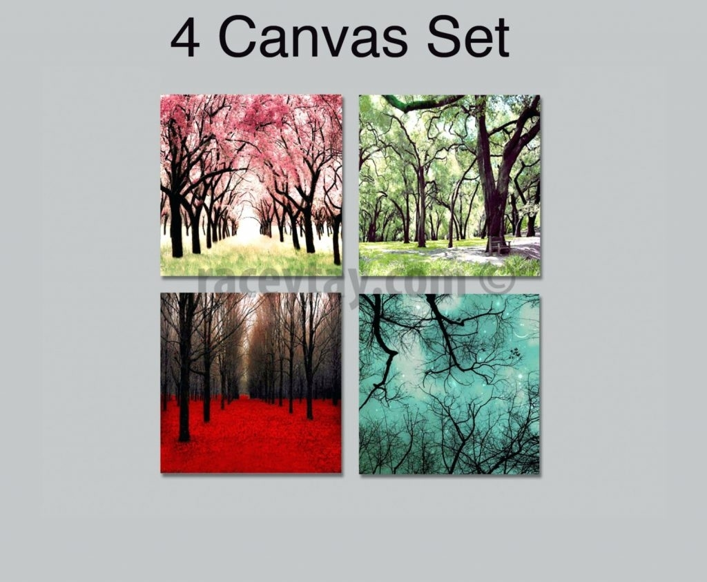 Wall Arts ~ Canvas Wall Art Sets Nature Nature Canvas Wall Art For Recent Abstract Nature Canvas Wall Art (View 15 of 20)