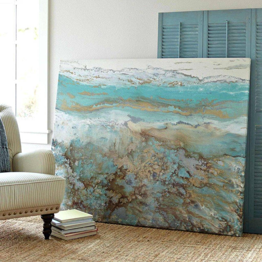 Wall Arts ~ Coastal Wall Canvas Australian Coastal Wall Art For Most Popular Crate Barrel Coastal Wall Art (View 19 of 20)