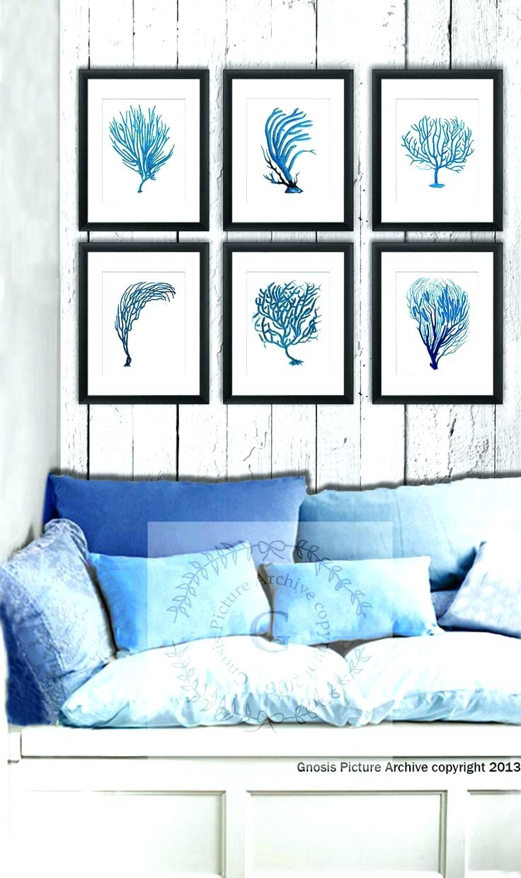 Wall Arts Diy Beach Themed Wall Art Sea Themed Wall Art Abstract Intended For Most Popular Abstract Beach Wall Art (View 17 of 20)