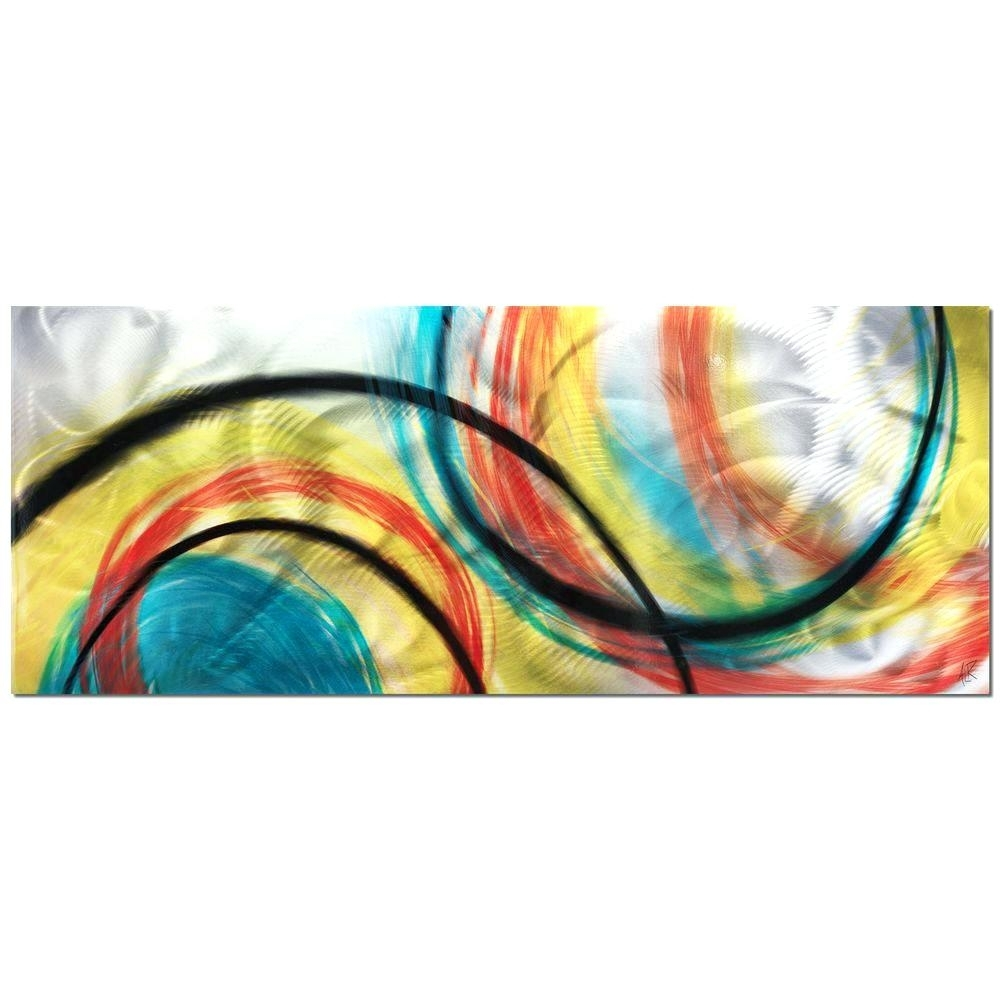 Wall Arts ~ Eternal Swirl Metal Wall Art Metal Wall Art Abstract In 2018 Abstract Angkor Swirl Metal Wall Art (View 15 of 20)