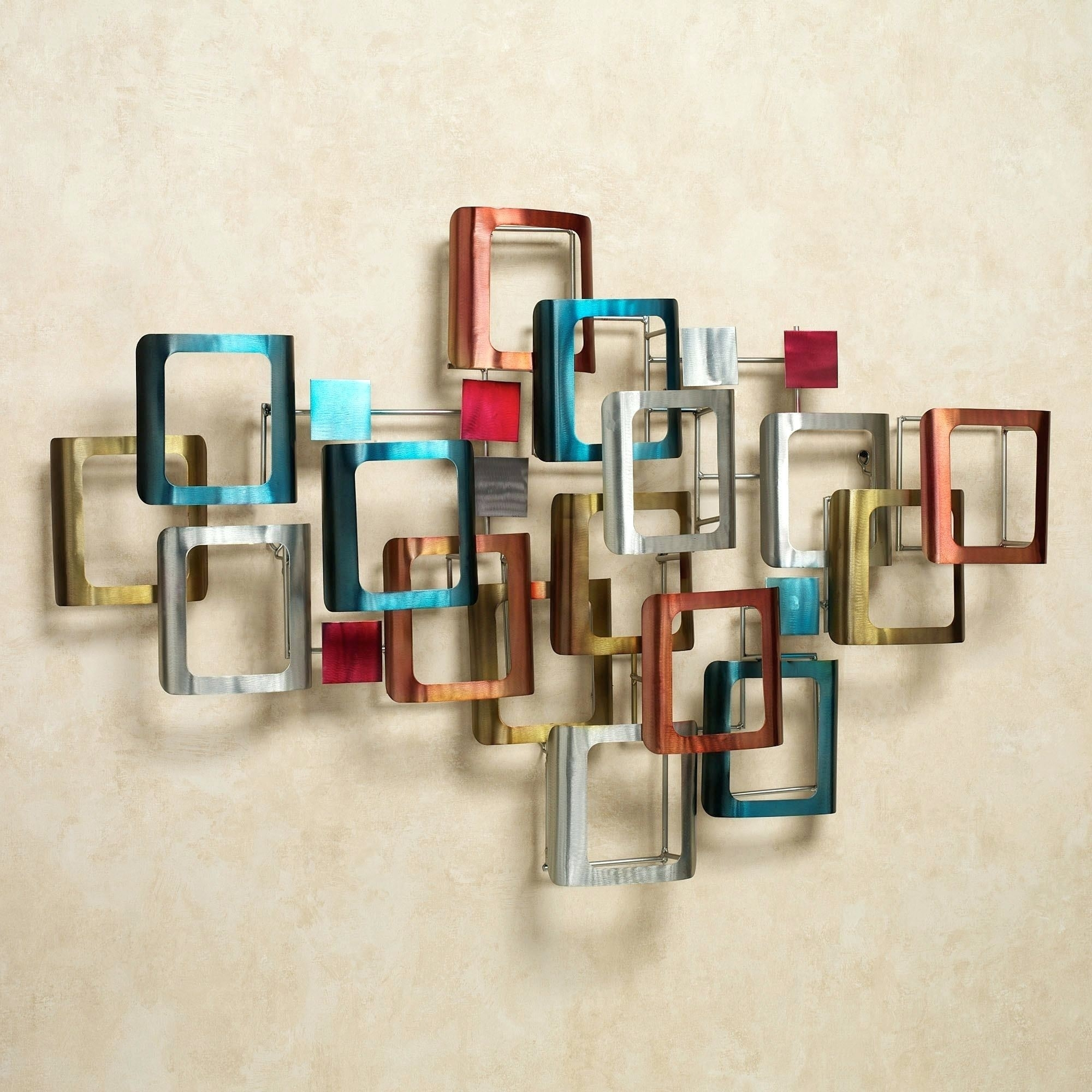 Wall Arts ~ Evening Sunset Wall Sculpture Click To Expand Big Pertaining To Most Current Abstract Metal Fish Wall Art (View 8 of 20)