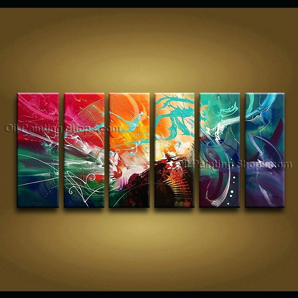 Wall Arts ~ Extra Large Canvas Abstract Wall Art Modern Art With Regard To Recent Extra Large Canvas Abstract Wall Art (View 9 of 20)
