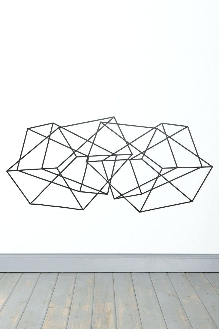 Wall Arts ~ Geometric Metal Wall Art Geometric Wall Art Photo In In Best And Newest Abstract Geometric Metal Wall Art (View 18 of 20)