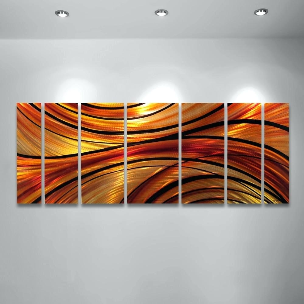 Wall Arts ~ Geometric Modern Metal Abstract Wall Art Modern Metal Regarding Most Current Melbourne Abstract Wall Art (View 16 of 20)