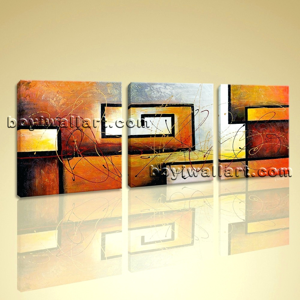 Wall Arts ~ Home Decor 5 Piece Photo Canvas Abstract Huge Canvas In Most Current Huge Abstract Wall Art (View 15 of 20)