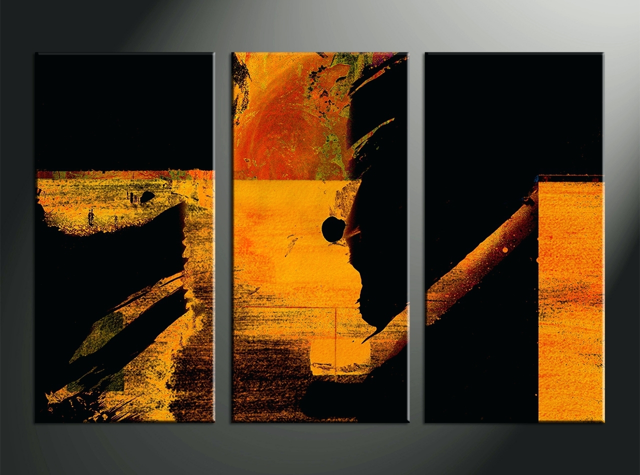 Wall Arts ~ Oversized Canvas Wall Art Sets Home Decor 3 Piece Intended For Recent Australian Abstract Wall Art (View 19 of 20)