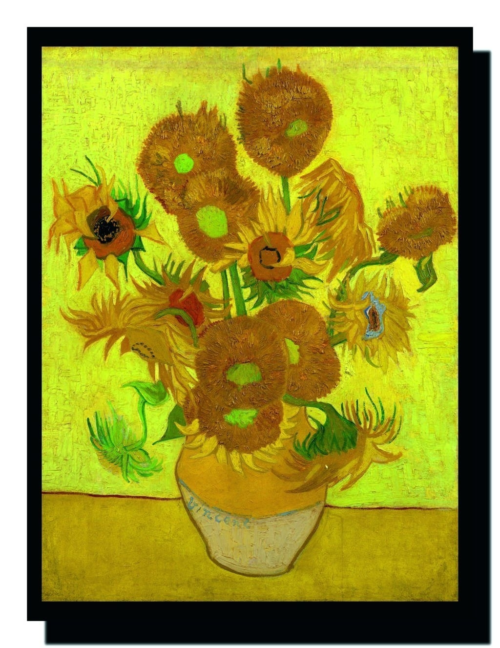 Wall Arts ~ Ravgar Sunflowersvincent Van Gogh Canvas Painting Pertaining To Most Popular Almond Blossoms Vincent Van Gogh Wall Art (View 18 of 20)
