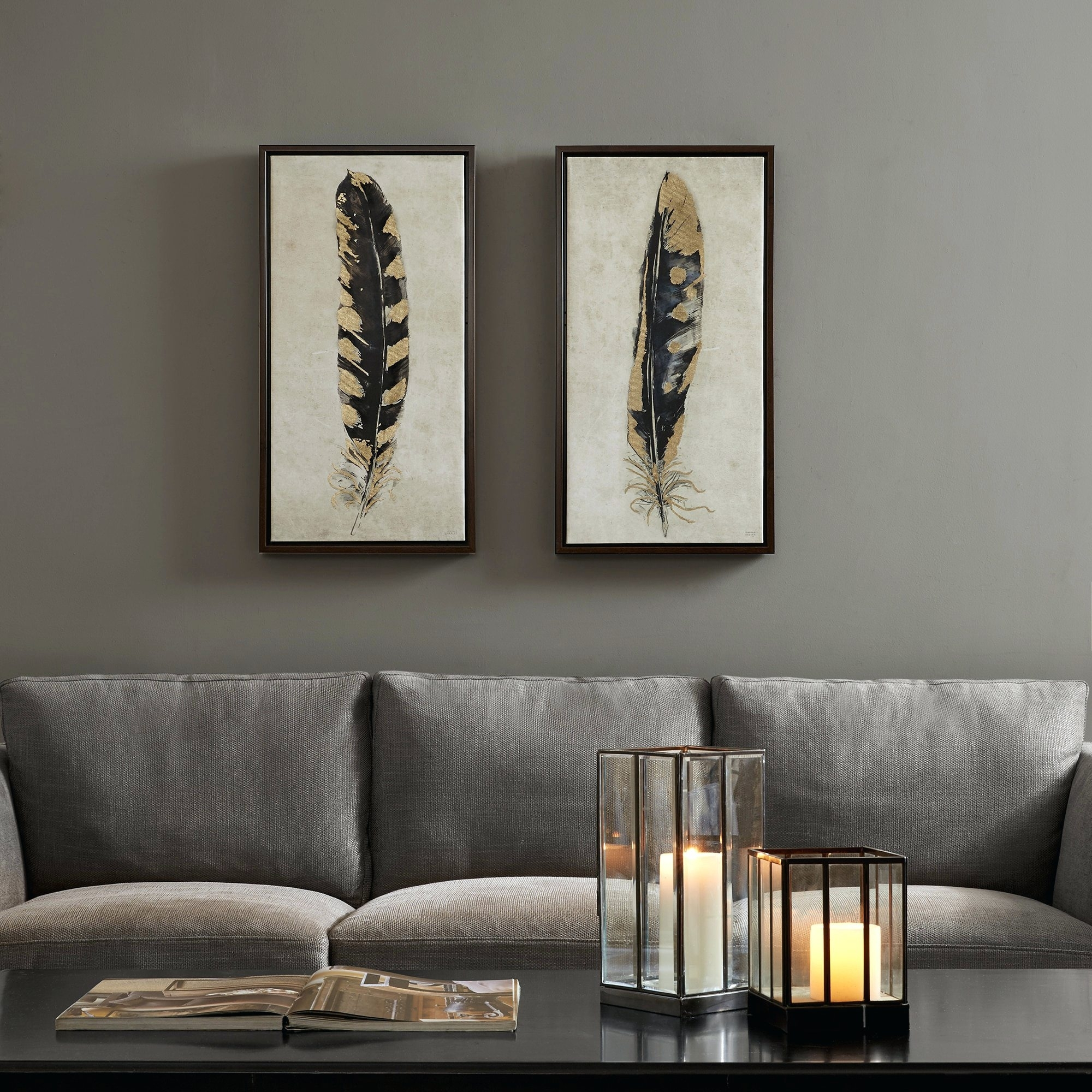 Wall Arts ~ Set Of 2 Canvas Art Abstract Canvas Wall Art Add Set With Regard To Most Recent Overstock Abstract Wall Art (View 18 of 20)