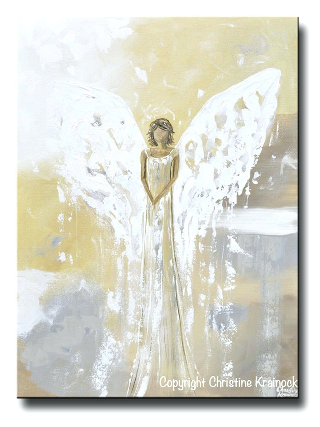 Wall Arts ~ White Ceramic Wall Art Flowers Original Abstract Angel Inside Most Recent Abstract Ceramic Wall Art (View 20 of 20)