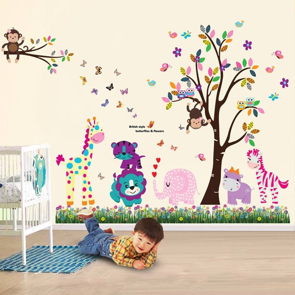 Wall Stickers Uk – Wall Art Stickers – Kitchen Wall Stickers Regarding Most Current Animal Wall Artstickers (View 3 of 20)