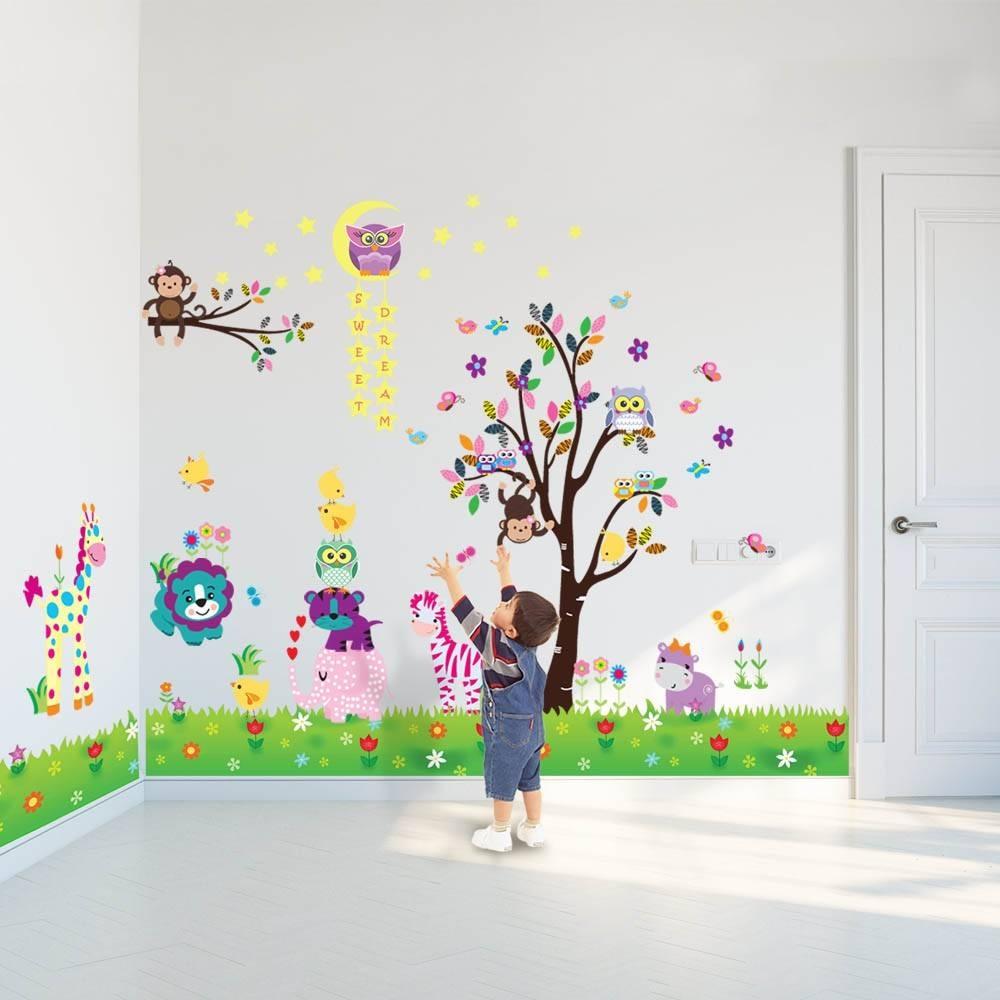 Wall Stickers Uk – Wall Art Stickers – Kitchen Wall Stickers Regarding Most Popular Animal Wall ArtStickers (View 20 of 20)