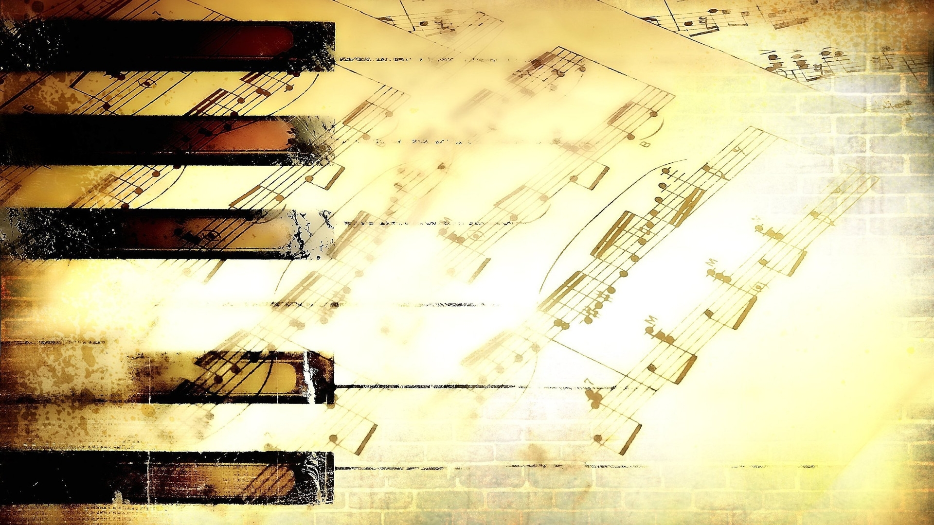 Wallpapers Music Note Notes 1920X1080 | #617700 #music Note Throughout Most Popular Abstract Musical Notes Piano Jazz Wall Artwork (View 13 of 20)