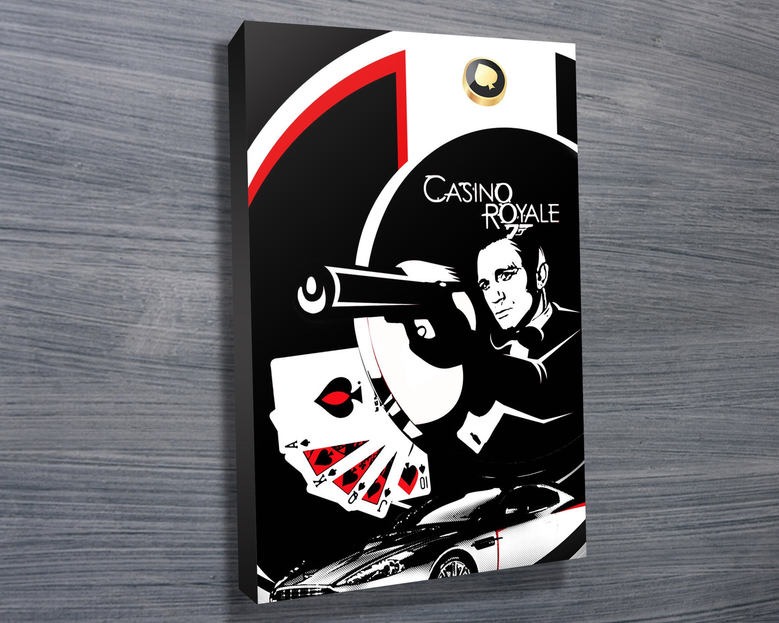 Featured Photo of James Bond Canvas Wall Art