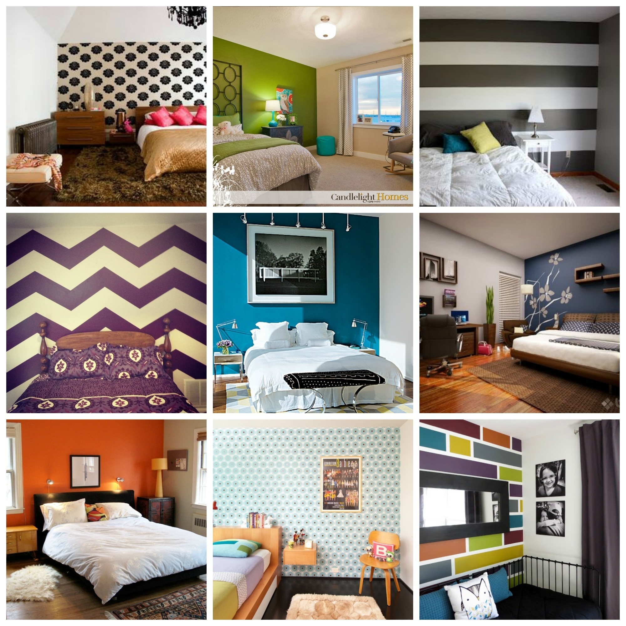 1000 Ideas About Striped Accent Walls On Pinterest Stripe Simple Throughout Most Popular Wall Accent Decals (View 9 of 15)