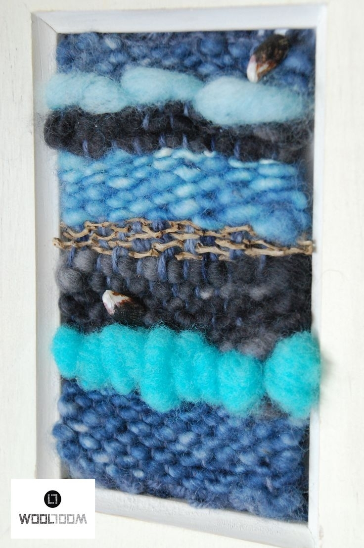 103 Best Telares Images On Pinterest | Weaving, Closure Weave And With Most Current Woven Textile Wall Art (View 1 of 15)