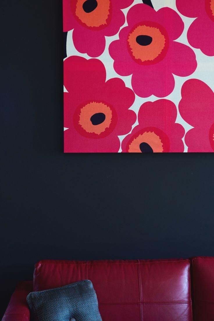 106 Best Marimekko Fabric + Wallpaper Images On Pinterest Intended For Latest Marimekko 'kevatjuhla' Fabric Wall Art (View 1 of 15)