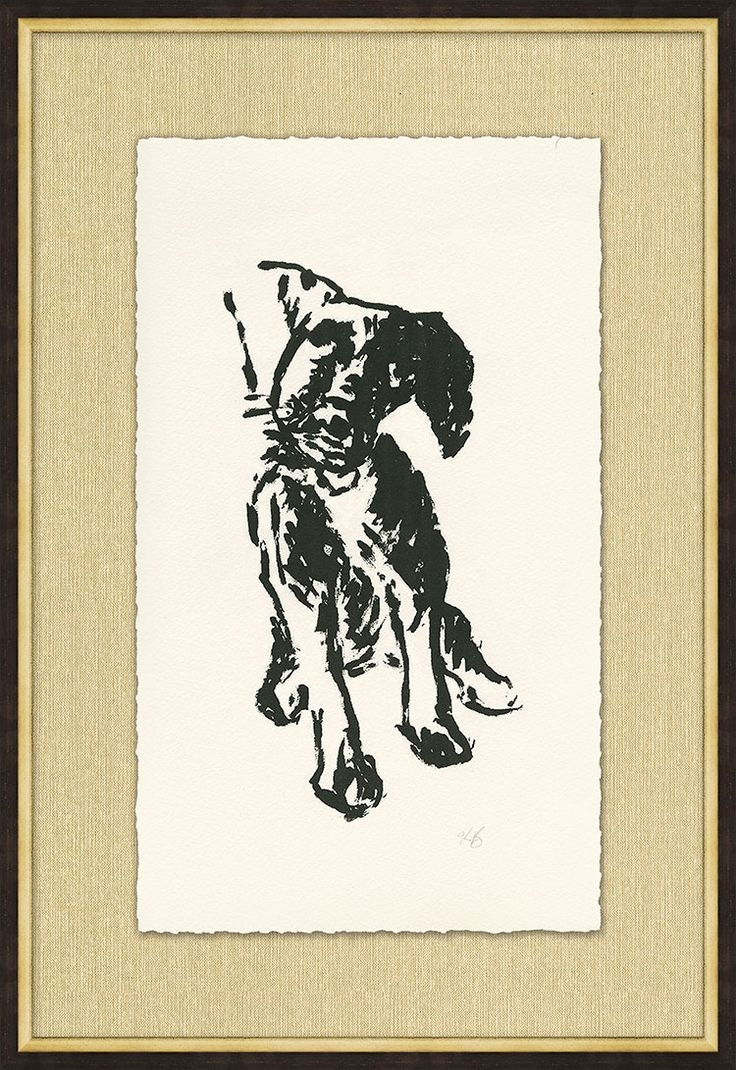 107 Best Art Gallery Images On Pinterest | Pottery Barn, Art Pertaining To Most Popular Dog Art Framed Prints (View 11 of 15)