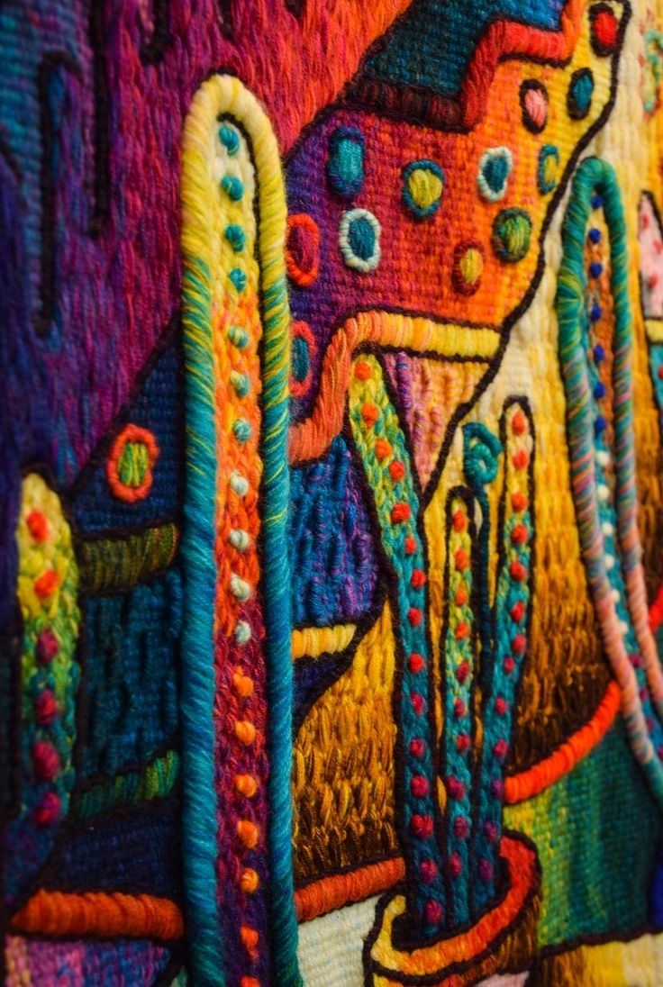11 Best Affordable Asian Tapestries Images On Pinterest | Asian Intended For Most Popular Contemporary Textile Wall Art (View 1 of 15)