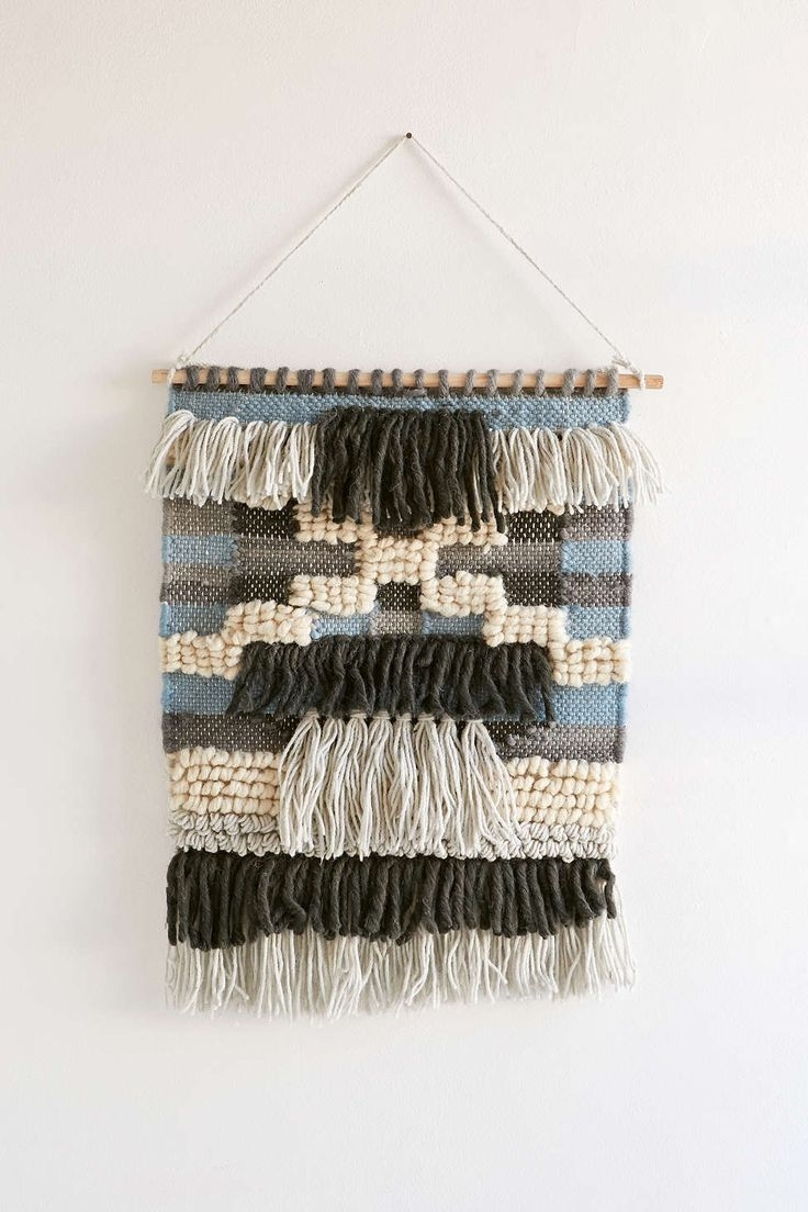 111 Best Wall Hanging / Macram Images On Pinterest | Tapestries Intended For Most Recent Fabric Wall Art Urban Outfitters (View 1 of 15)