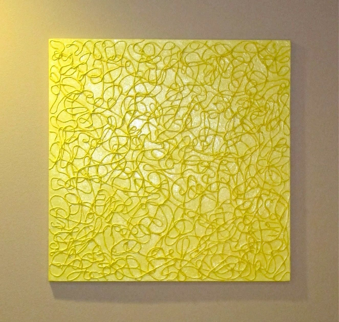 12 Simple Wall Art Projects To Make | Yarns, Canvases And Craft Intended For Best And Newest Textured Fabric Wall Art (View 4 of 15)