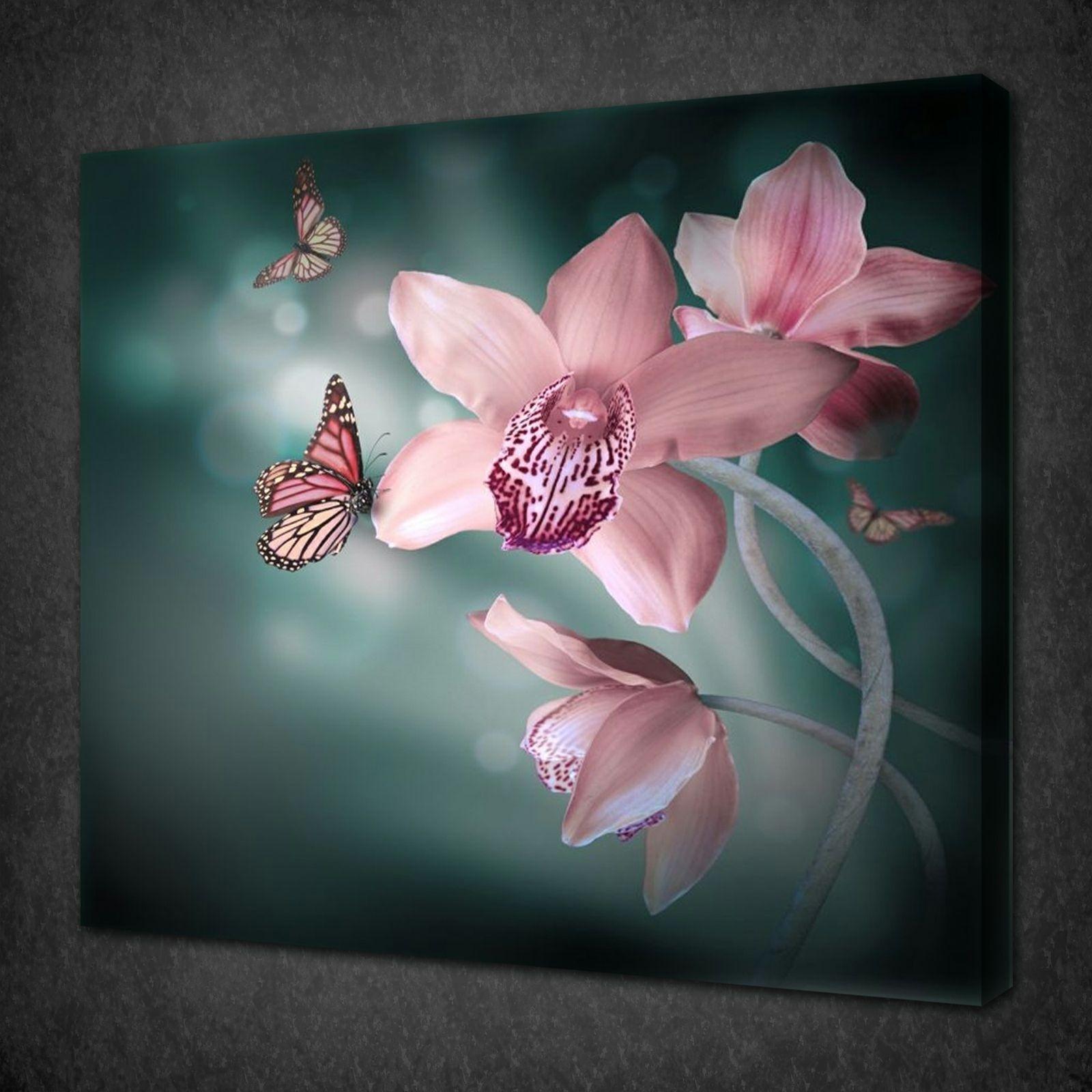 14 Best Of Butterfly Wall Art Regarding Recent Butterflies Canvas Wall Art (View 1 of 15)