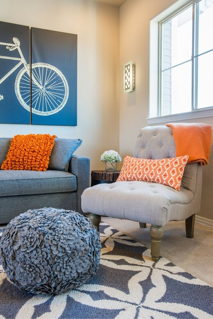 15 Best Room Decor Images On Pinterest | Armchairs, Color Palettes With Newest Wall Accents For Blue Room (View 1 of 15)