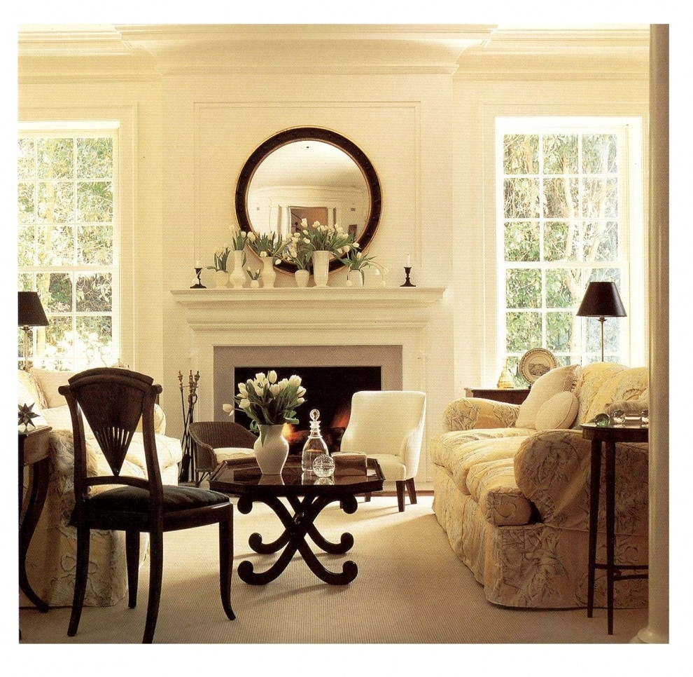 15 Mirrors Over Fireplace Ideas Compilation – Page 2 Of 3 For Best And Newest Wall Accents Over Fireplace (View 7 of 15)