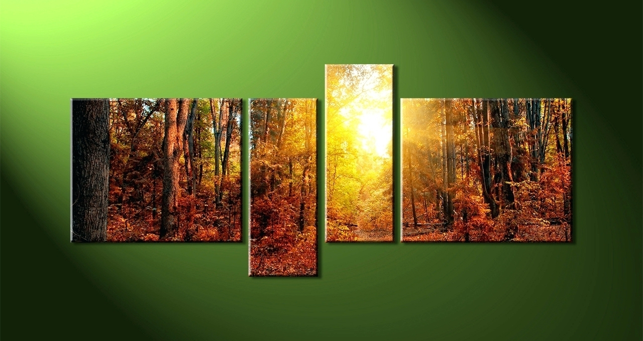 15 Photos Abstract Nature Canvas Wall Art With Recent Nature Canvas Wall Art (View 1 of 15)